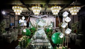《禾朵私人婚礼定制》-祖母绿大理石婚礼