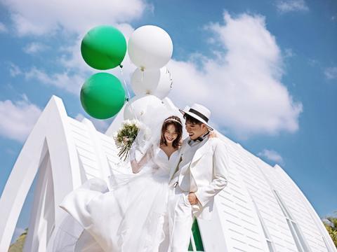【先拍照后付款】3天2晚住宿 赠全新婚纱 大礼包