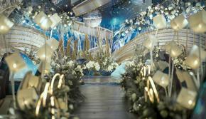 爱与星河/星空系/蓝色/婚礼布置