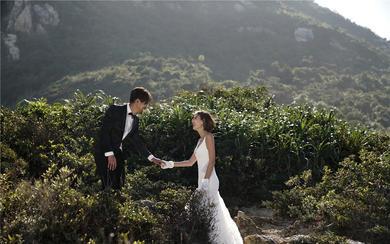 三米婚纱摄影一最新INS婚纱