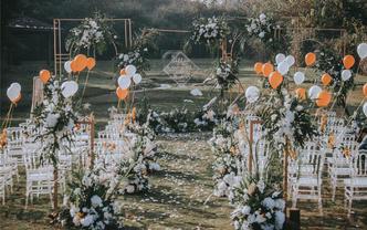 微致婚礼丨文艺风性价比户外草坪婚礼