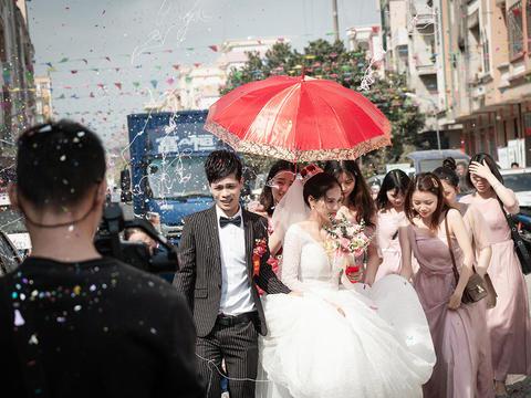 首席摄影师婚礼全天高端佳能5D4拍摄