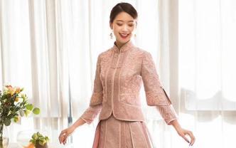 新款超值8件套大托尾婚纱+重工秀禾|+高定礼服
