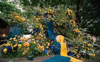 【嘉月婚礼】复古创意 | 超高性价比 花艺设计满