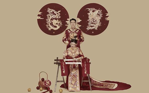 【万金褂皇】东方仪式感|加送底片|8服8造