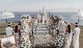 蜜悦岛海外婚礼•巴厘岛 全新搭建 一家全包