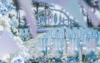 三亚海边婚礼 | 无与伦比的爱