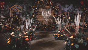 【WEIAI WEDDING】小而精致的森系婚礼