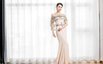 【BO精致】主纱+出门+礼服三件套