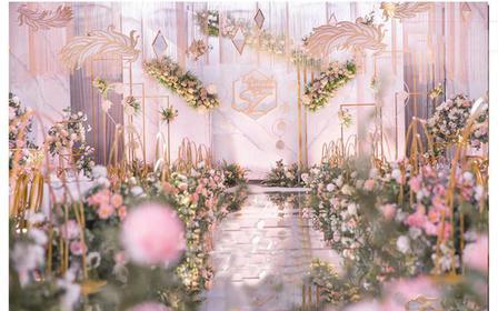 【好时】良心推荐 金粉色暖心热爱人气婚礼