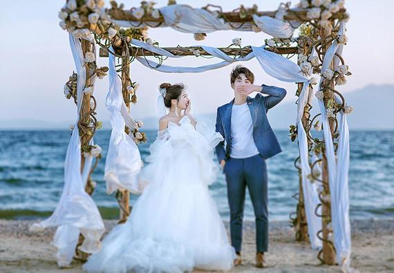 ins风Ⅰ澄江环湖轻旅拍+奢华内景+10对1服务