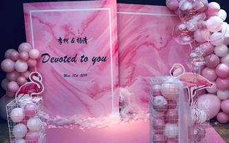 广州婚礼订婚活动布场,只有你想不到没有我们做不到