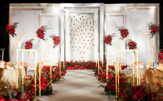 三亚爱薇汀婚礼婚庆室内之相遇