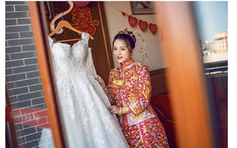 寳儿婚礼造型|资深化妆师全天跟妆送伴娘妆