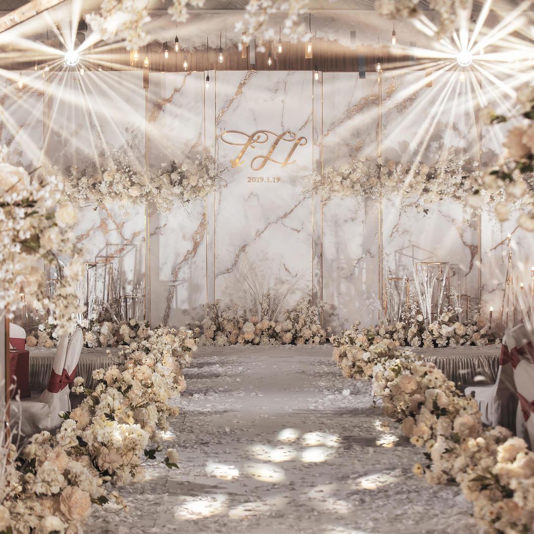 牵手婚礼 | 香槟粉小清新 怀化性价比婚庆策划