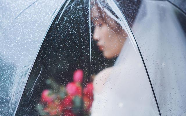 wedding| 雨天外景也不错哦