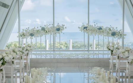 海岛透明水晶教堂套餐-热销爆款