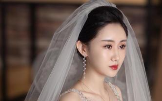 「婚纱+跟妆」首席化妆师婚礼跟妆+轻奢拖尾六件套