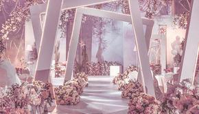 倾心系列--粉色倍甜婚礼