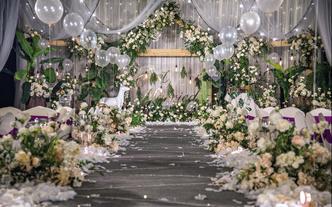 尚佳婚礼白绿套系--小预算婚礼