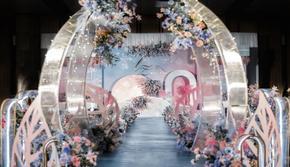 莫奈花园  莫兰迪色婚礼