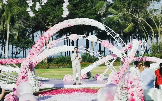 三亚草坪婚礼|超能陆战队大白婚礼