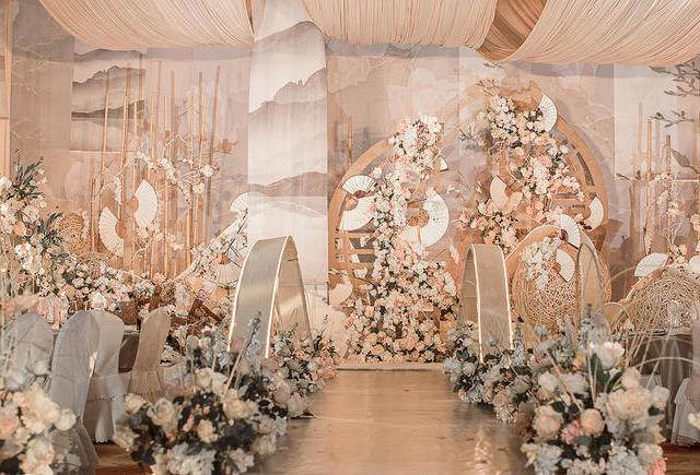 【六月婚礼】香槟色新中式婚礼