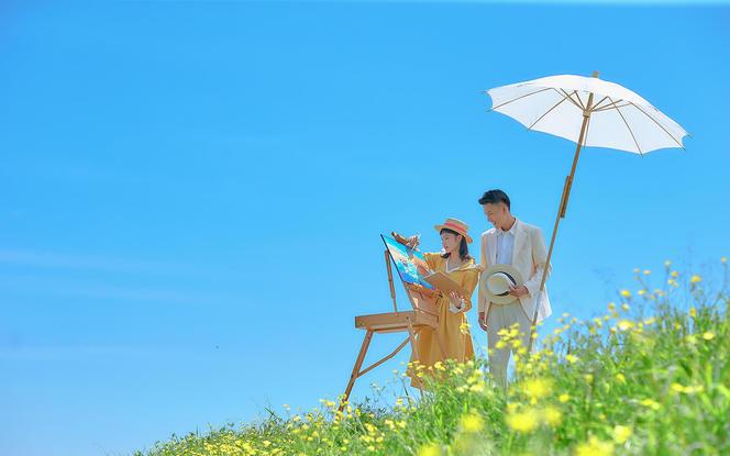 【春夏限定】宫崎骏同款婚照|主题定制|一价全包