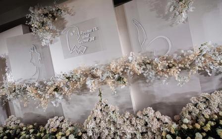 【喜尔婚礼】温德姆白色简约主题婚礼