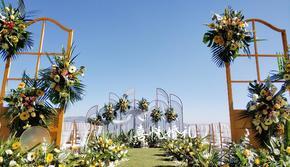 【草坪婚礼】黄白色系草坪婚礼