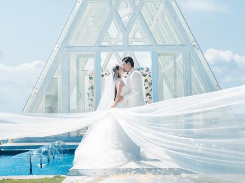 三亚旅行婚礼+婚纱照特惠套餐惊喜价跟拍