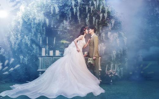 韩式内景系列——巴黎世家婚纱摄影