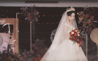北海婚礼摄像跟拍 文艺清新婚礼