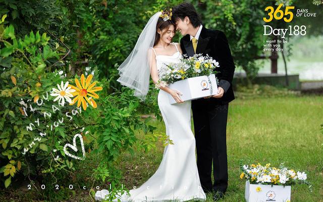 【名人婚纱】春日限定~温柔到想私藏的森系婚纱照