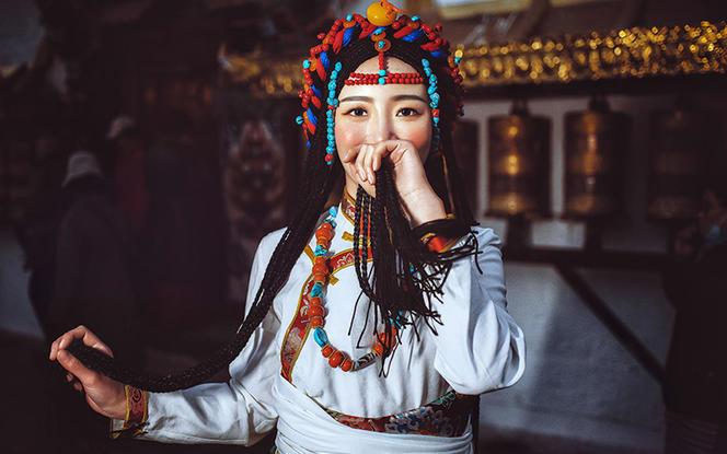西藏写真摄影【暖冬礼遇藏装写真】