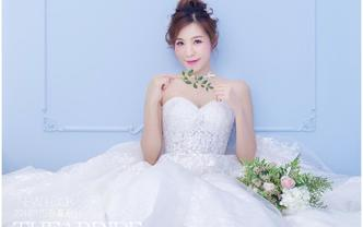 THEABRIDE唯美两件套+钻石新娘跟妆+伴娘