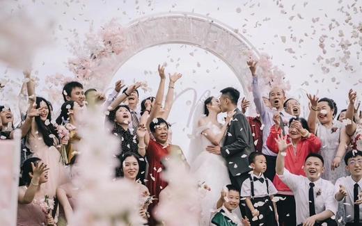 三亚婚礼|Pink Macarons