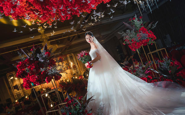 【AK婚纱】繁花与飞鸟的唯美世界