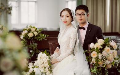 7月6日复古旧教堂婚礼,总监创始人双机位案例