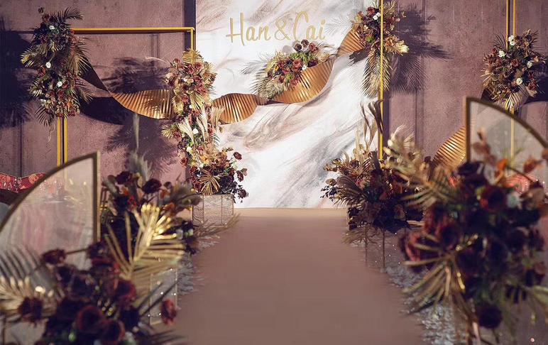 泰式风格 性价比 焦糖色系 婚礼