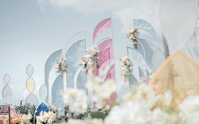 「波希米亚」海边草坪婚礼
