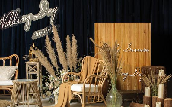 TAVIUSwedding 祖母绿家居感婚礼