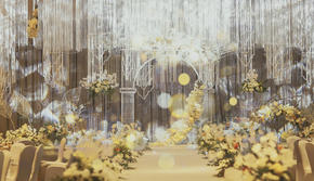 造梦者-「入目无别人」香槟色婚礼