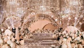 年度优质商家【诺时尚】高端定制香槟色婚礼