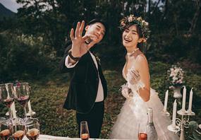 轻奢主义系列8服+8造 ++送全新婚纱一件