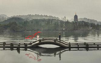 【西湖】1对1服务|杭州特色外景任选|10套服装