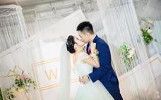 为伊作嫁丨白绿小清新主题婚礼丨W&Y