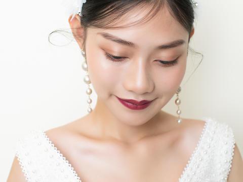 「超值租赁」微商活动晚宴礼服单件 化妆