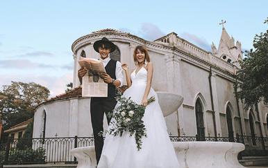 【立减2000】2天1夜鼓浪屿别墅酒店+婚纱