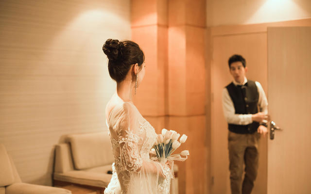 香槟色轻奢时尚婚礼